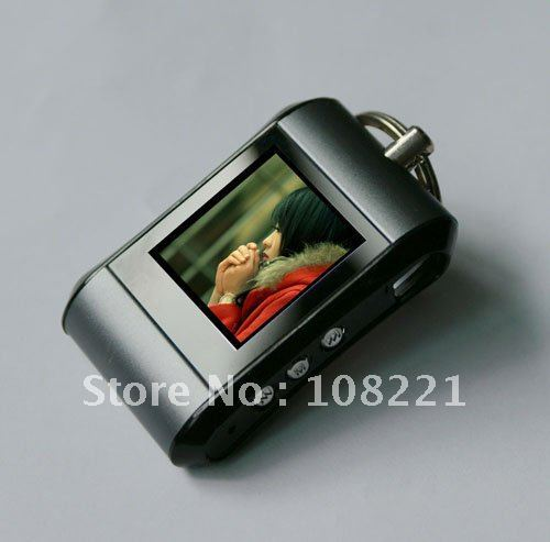 10pcs Ultra-thin 1.5-inch key chain digital photo frame photo album digital photo frame free shipping