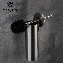 Yanjun Европейский стиль латунный держатель для туалетной щетки аксессуары для ванной комнаты туалетная щетка с длинной ручкой для туалетной YJ-7562