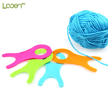 4 Pcs/set Looen Thread String Winding Board Tools,DIY Hand Craft Plastic Sheet Yarn Coiling Plate Knitting Tools