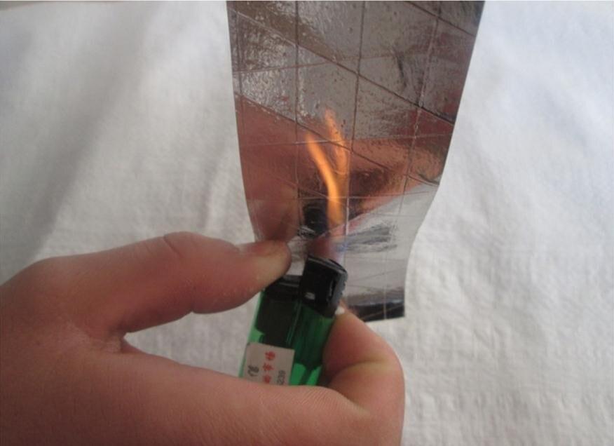 Anti-slip Stripe Style Aluminum Foil Adhesive Tape,metal Conductive Tape, Fire-retardant.