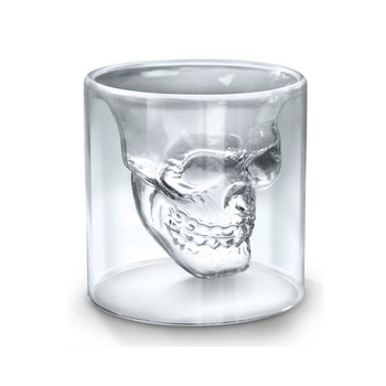 Creative Transparent Skull Cup