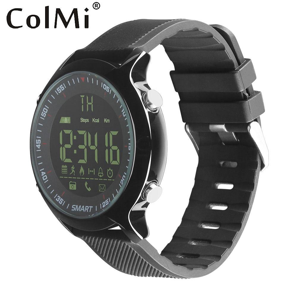все цены на ColMi Smart Watch Waterproof IP68 5ATM Passometer Message Reminder Ultra-long Standby Xwatch Outdoor Swimming Sport Smartwatch онлайн