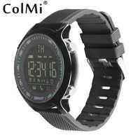 ColMi inteligentny zegarek wodoodporny IP68 5ATM Passometer wiadomość z przypomnieniem bardzo długi czas czuwania Xwatch odkryty pływanie smartwatch sportowy