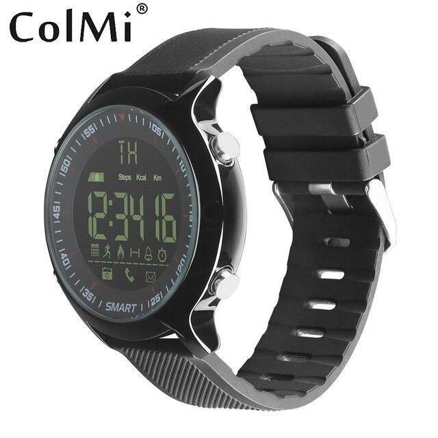 Colmi Смарт-часы Водонепроницаемый IP68 5ATM шагомер сообщение напоминание сверхдальние ожидания xWatch открытый Одежда заплыва спортивные SmartWatch