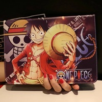 Tablet Case For Apple Ipad Mini 1 2 3 4 New One Piece Luffy Prints PU