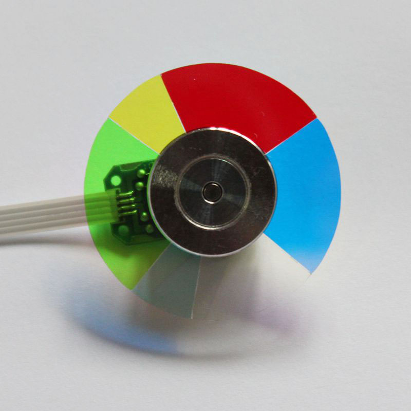New Projector Color Wheel For OPTOMA DP3301 DP2301 GT760 CB2800 Free Shipping