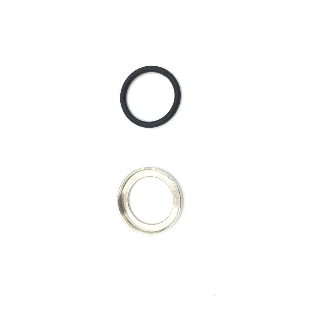 Stainless Steel O Ring For A2 Birdcage M4 KAC QD Water Gel Ball Blaster AEG Flash Hider