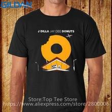 Stranger Things Print T Shirts Original Short Men New Style Crew Neck  Trend J Dilla Jay Dee Donuts Rap Music Tee Shirt