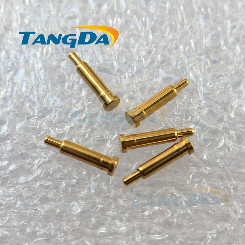 Tangda 1000pieces 2*8mm D 2*8 spring probe PCB test pin High current Guide pin locating pin Pogo pin for charging connector A.