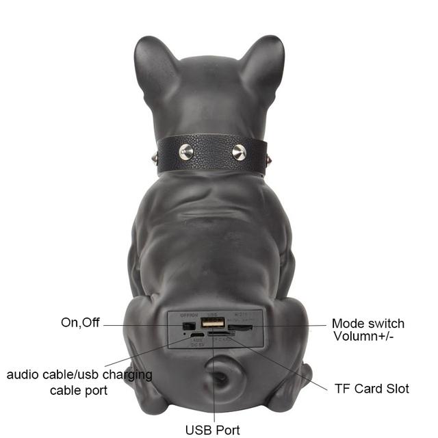 Big Full Aerobull Nano Wireless Bluetooth Speaker Big Bulldog Speaker Subwoofer Multipurpose Computer PC Speaker TF MP3 player