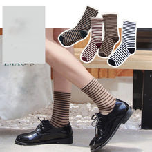 a2fb8437379e3 Hiver Femmes Chaud Bande Chaussettes Mi Tube Chaussettes Coton Rétro Style  De Mode chaussette chaussettes femmes