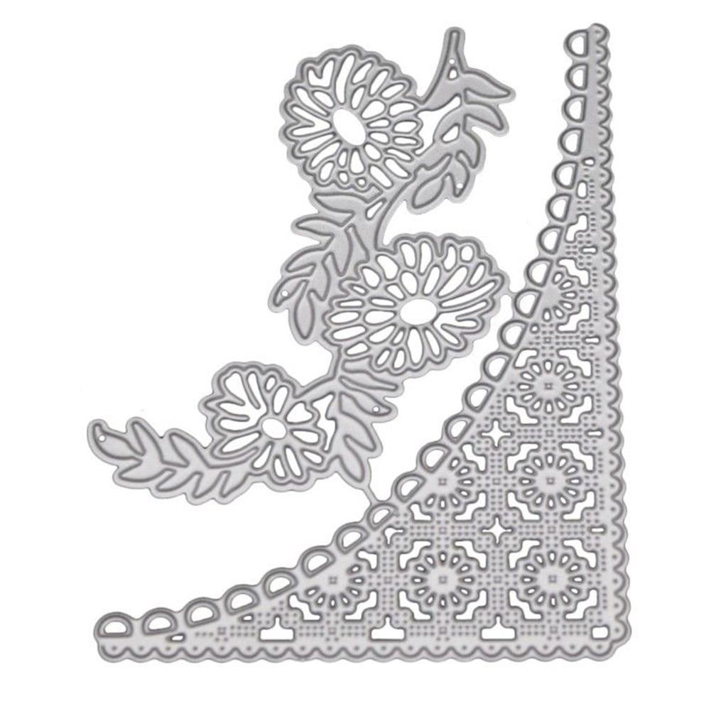Card Making Scrapebook Stencil Album Decoration Lace Pattern Cutting Die Durable DIY Carbon Steel Paper Craft Embossing