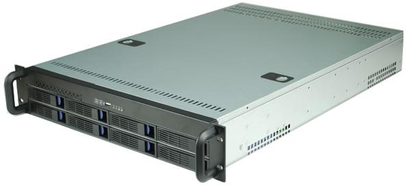 2UR2308 8 disk hot plug storage 2U chassis 2U hot plug monitoring cabinet 2u hot plug in chassis 2u 9 disk hot swap server sata sas hd storage cabinet