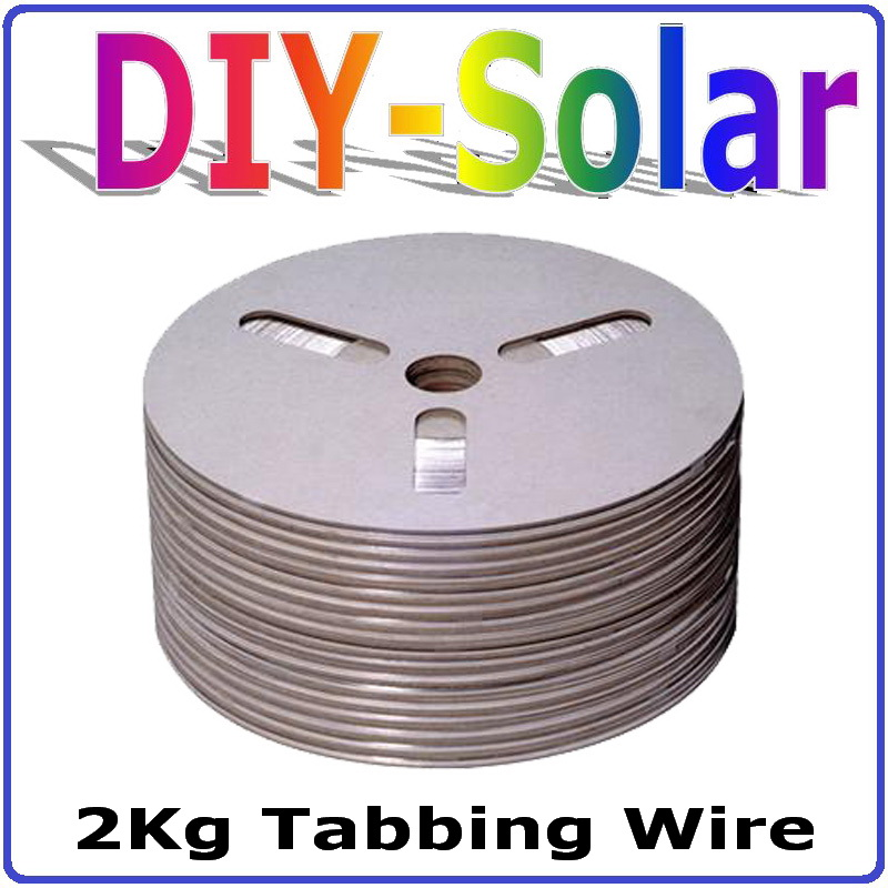 2Kg Solar Cell Tabbing Wire Solar Cell PV Ribbon 100 Quality Certification solar cells soldering wire