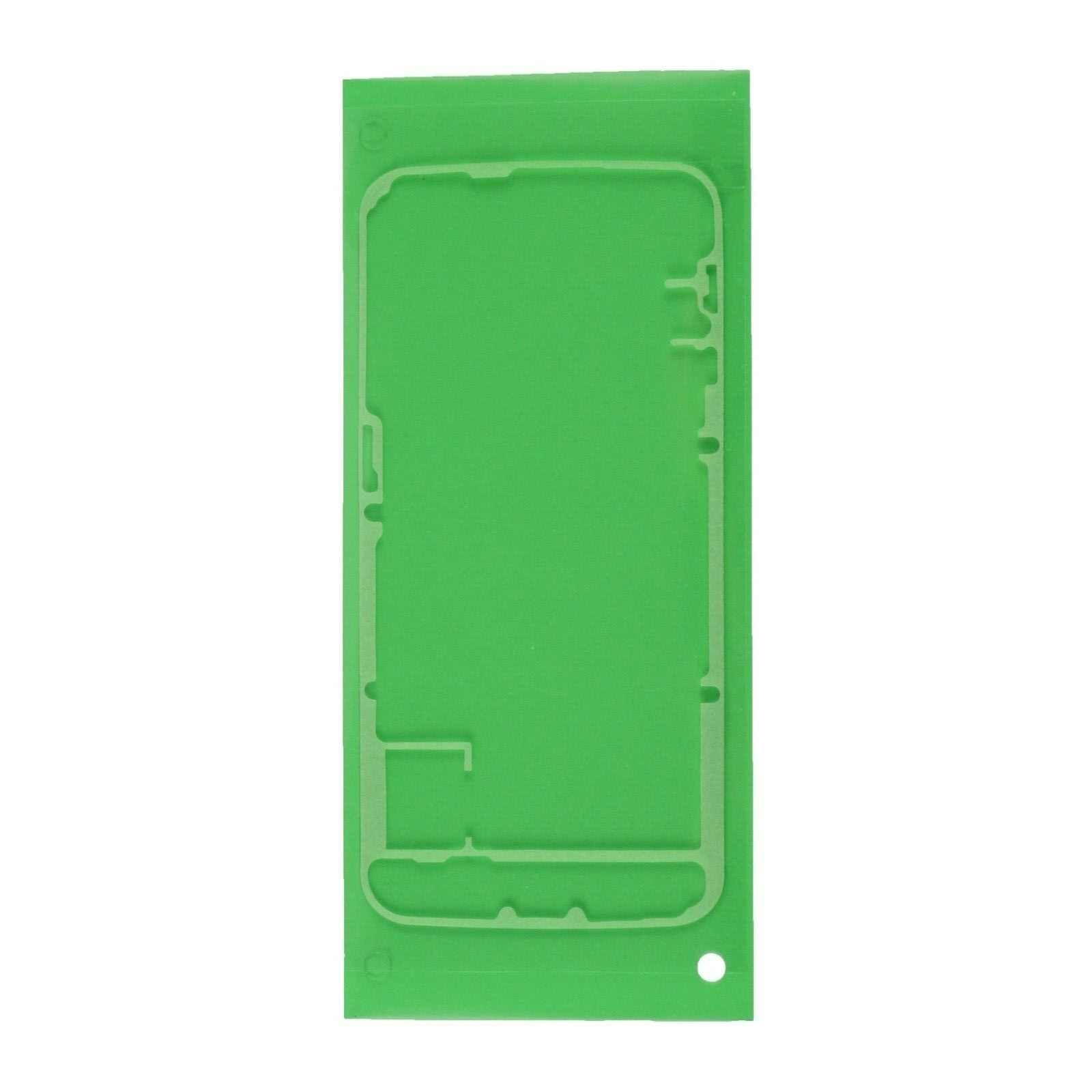 עבור סמסונג גלקסי S6 קצה SM-G925 LCD קדמי דיור מסגרת חזרה LCD חזור סוללה דלת כיסוי דבק מדבקה