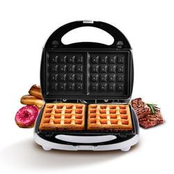 Household Electric Baking Pan Multi Mini Muffin Machine Intelligent Double Side Heating Waffle Maker Machine Egg Machine