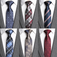 Mens Tie Formal Dress Necktie Stripe Slim Ties for Men Busin