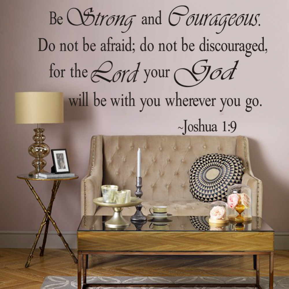 Christian Jesus Inspirational Quotes Vinyl Lettering Wall Stickers 8127  Decals For Living Bedroom Home Decoration English Quote In Wall Stickers  From Home ...