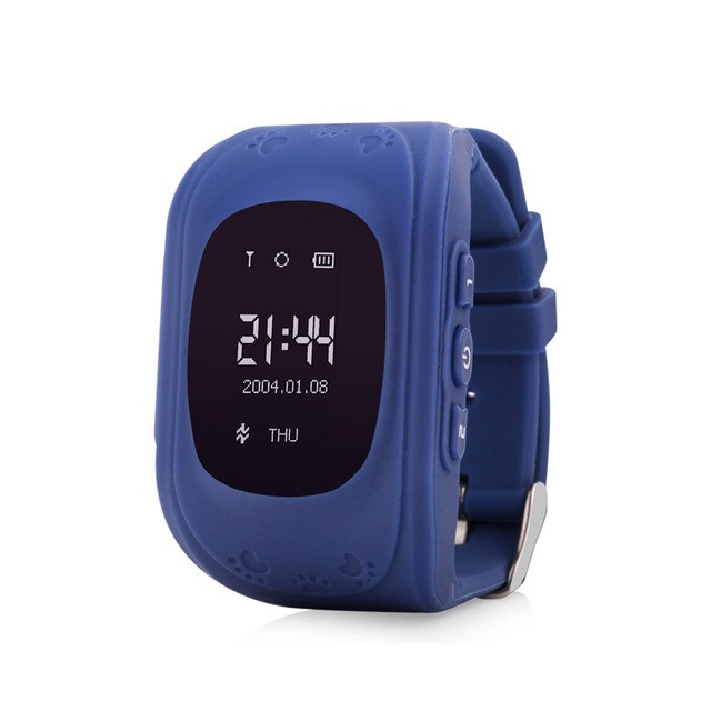 Q50 Kid Safe GPS Smart Watch Locator Tracker Anti Lost Monitor Lovely Wristwatch Support Micro SIM card for Children