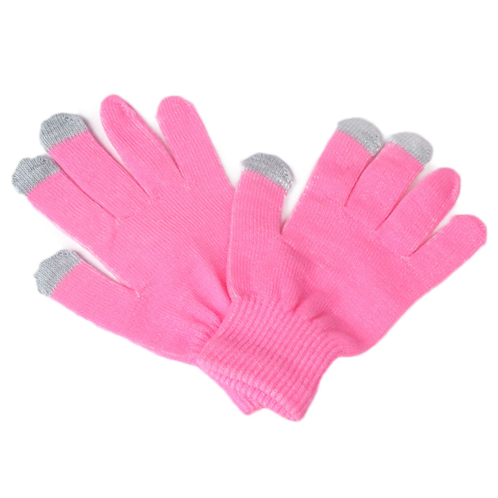 New Fashion  Winter Vogue Knitted Full Finger Gloves Mittens 8colors  For Smart Phone Gloves