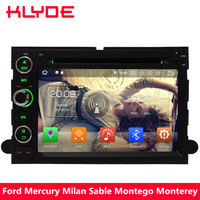 KLYDE 4G WIFI Android 8.0 Octa Core 4GB RAM Car DVD Player Radio For Ford Focus Mercury Milan Sable Montego Monterey Mountaineer
