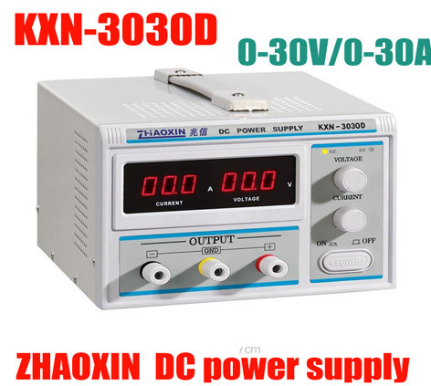 high quality 30V 30A LED KXN-3030D High-power Switching DC Power Supply Precision Variable Adjustable 30V 30A DC Power Supply new kxn 1005d high power switching dc power supply adjustable dc 0 100v 0 5a