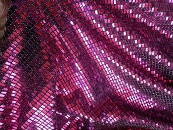 high quality ZH-1257 African French net tulle Lace Fabric for party Hot  sequins lace fabric
