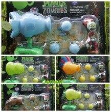 2015 новых популярная игра растения против зомби Peashooter пвх фигурку модель игрушки 5 растения против зомби игрушки для ребенка подарок