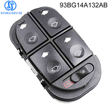 New 93BG14A132AB Left ELECTRIC WINDOW SWITCH Control  for Ford Escort MONDEO MK1 MK2 1993-2001 rally 1 18 ford escort mk1 dally mlrror 4 1972 esso uniflo toys car models limited edition collection