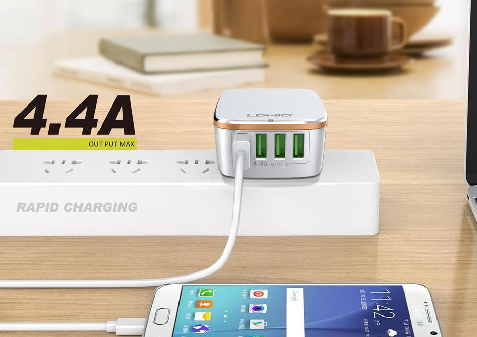 LDNIO USB TRAVEL CHARGER (3)