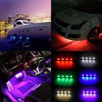 4 8 Pods LED Rock Light Kits Led Light For Off Road Truck Car ATV