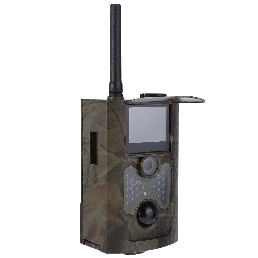 HC 550 г Охота Камера четырех языках ЕС Plug Инфракрасный цифровой зеленый Скаутинг с 12MP 1080 P HD видео 3G MMS GPRS