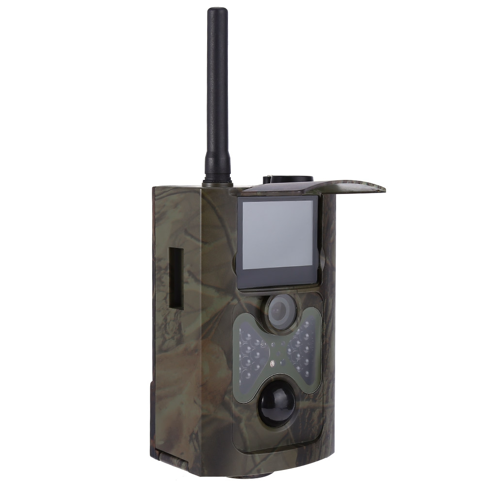 HC - 550G Hunting Camera Four languages EU Plug Infrared Digital Green Trail Scouting with 12MP 1080p HD Video 3G MMS GPRS hc   550g hunting camera four languages