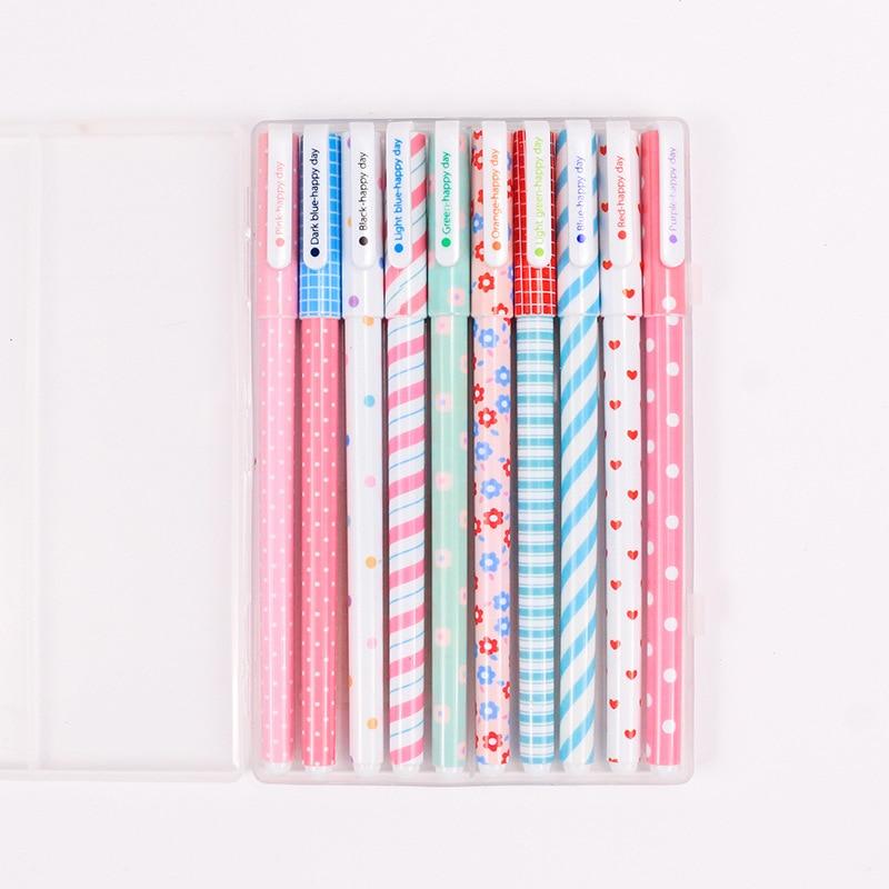 Cute Cartoon Colored Pens Ballpoint 0.38mm  5