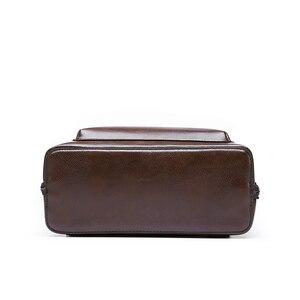 Image 5 - Toposhine Vintage sırt çantası kadın deri kadın sırt çantası büyük kapasiteli okul kızlar çanta eğlence omuz çantaları kadınlar için 2020