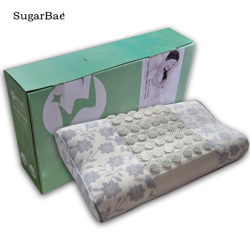 Relax Jade Pillow Cervical Adult Pillow Health Pillow Massage Memory Sleep Energy Porcelain Pillow With Box