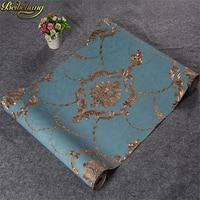 beibehang Damask papel de parede 3D wallpaper For Walls vinyl PVC glitter wall paper for Living Room wall paper papel wall