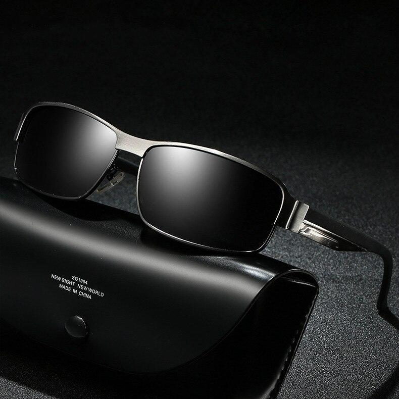 Aluminum Sunglasses Men Polarized 2018 Mercedes Luxury Brand Designer Sun Glasses For Male lunette soleil homme zonnebril mannen