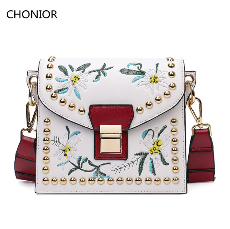 Luxury Women Leather Messenger Bags Handbags Famous Brands Designer Ladies Crossbody Shoulder Purses - CHONIOR Store store