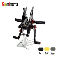 CNC Adjustable Rearset Footpeg Rear Sets For Aprilia RSV4 R FACTORY APRC ABS 2013 2014 2015