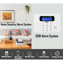 DAYTECH Wireless GSM Alarm System APP Control(IOS/Android) WiFi Home Burglar Alert Security System with PIR Detector Door Sensor