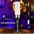 Бар Бар настольная лампа аккумуляторная светодиодные лампы night light свечи КТВ бар творческий настольная лампа оформлены Шампанское Бар