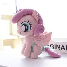 Мой милый маленький хлопок Дружба это волшебное аниме домашнее животное мягкие плюшевые игрушки чучело животное кукла Единорог животное лошадь сердцебиение
