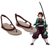 Cosroad Kamado Tanjirou buty Demon Slayer Kimetsu nie Yaiba Cosplay buty Halloween Tanjirou Kamado buty Cosplay kostium