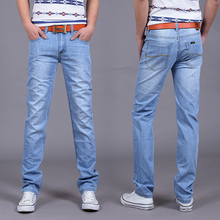 New fashion Utr Thin Retail Men's spring and summer style jeans brand denim jeans high quality leisure casual Jeans