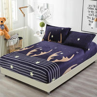 Winter Velvet Warm Flannel Fleece 25cm Hight Twin/Full/Queen/King Size Fitted Sheet Bed sheet sabanas Mattress Protector Cover