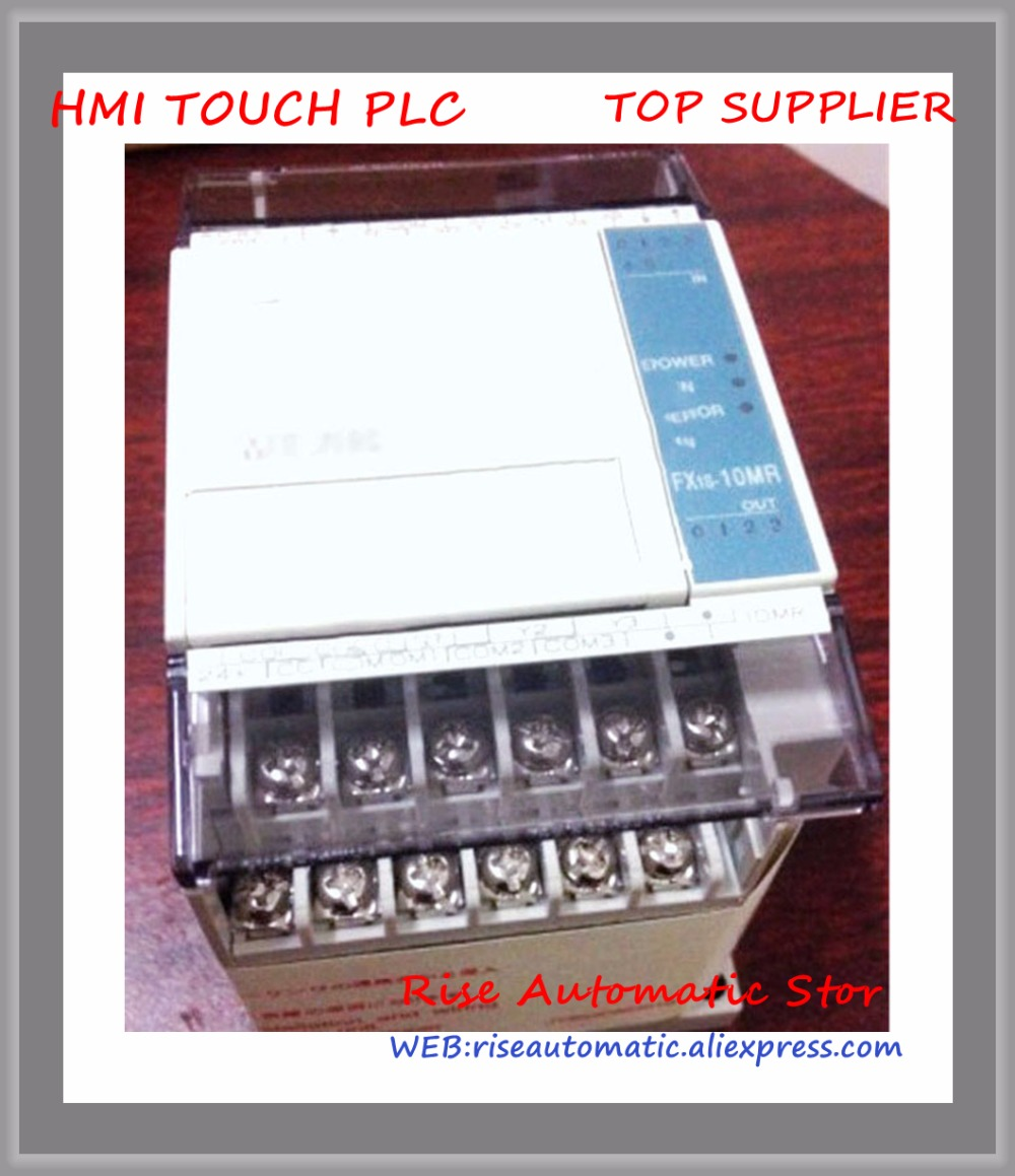 FX1S-10MR FX1S-10MR-001 PLC 24V DC Relay Output Base Unit New Original new original fx3u 80mt dss plc base unit