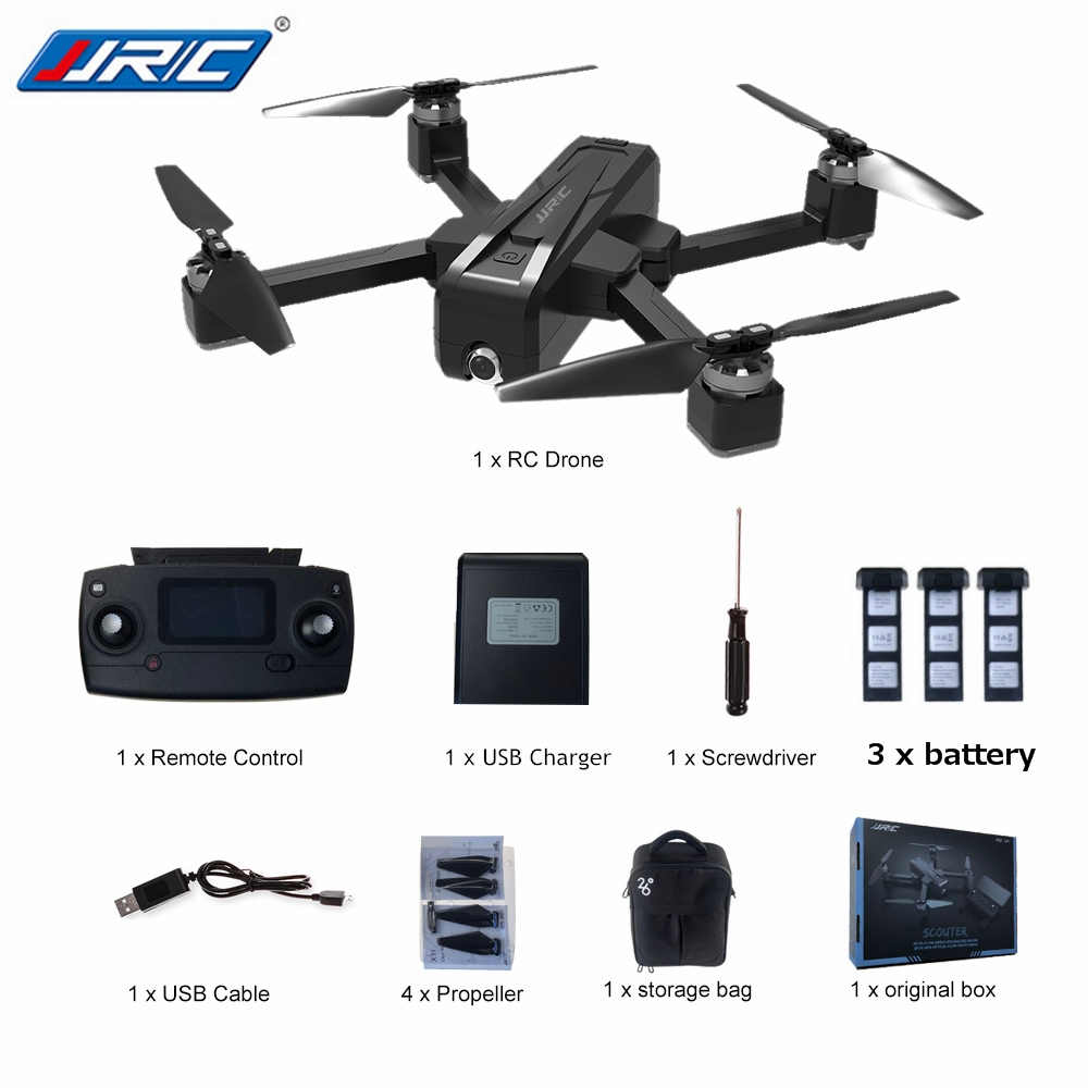JJRC X11 5G Foldable GPS RC Drones With 2K WIFI FPV Camera Night Flight Professional Remote Control Quadcopter RTF