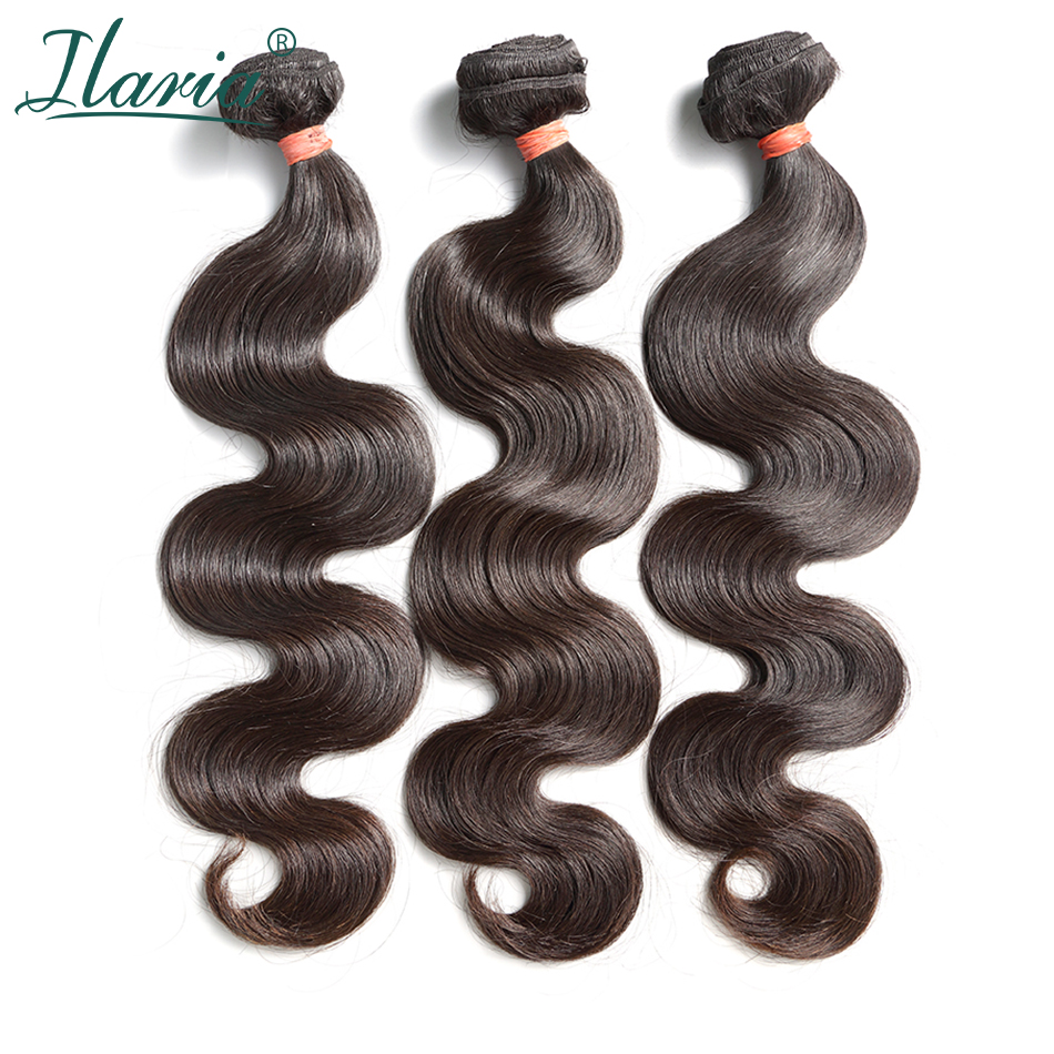 ILARIA HAIR 8A Mink Brazilian Body Wave Virgin Hair 3  Bundles Thick&Full 08