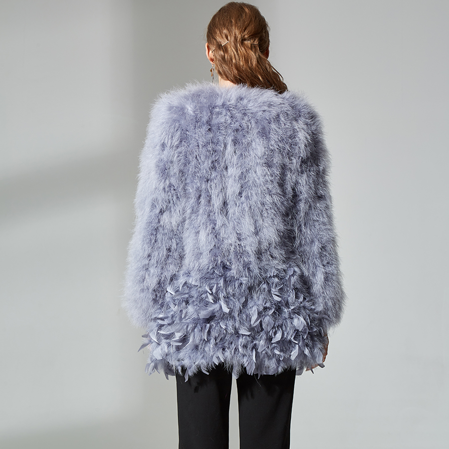 Mouton Femmes Qualité Top En Vestes Peau Dinde Blue Manteau Light De Plume Specialnew Laine Autruche Mode Élégante Réel Fourrure vHwqrPv